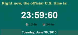 Secunda de salt iunie 2015