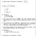 Subiecte teza la matematica clasa a 6-a semestrul 2 – Varianta 3 - Algebra